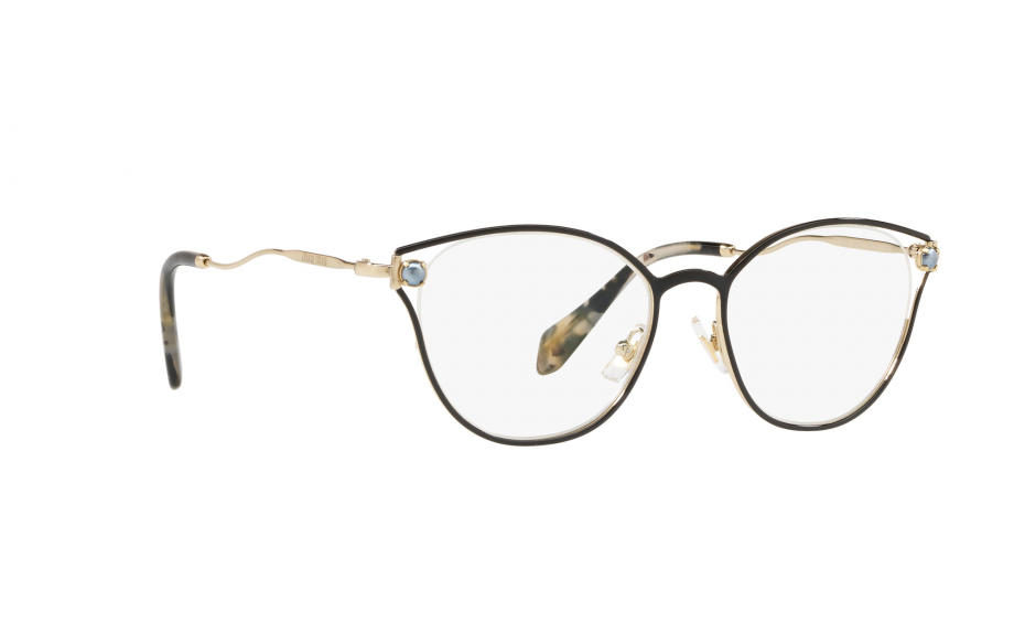ab64b0a0ddf Miu Miu MU 53QV 1AB1O1 52 Óculos - Frete Grátis