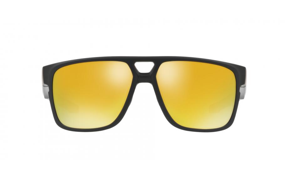 358e5219a49aa Oakley Crossrange Patch Sunglasses. zoom. 360° view. Frame  Matte black.  Lens  24K Iridium