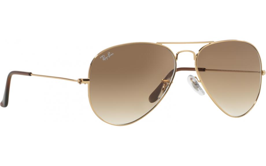88b5c8414f042 Ray-Ban Aviator RB3025 001 51 58 Óculos de Sol - Frete Grátis   Estação de  sombra