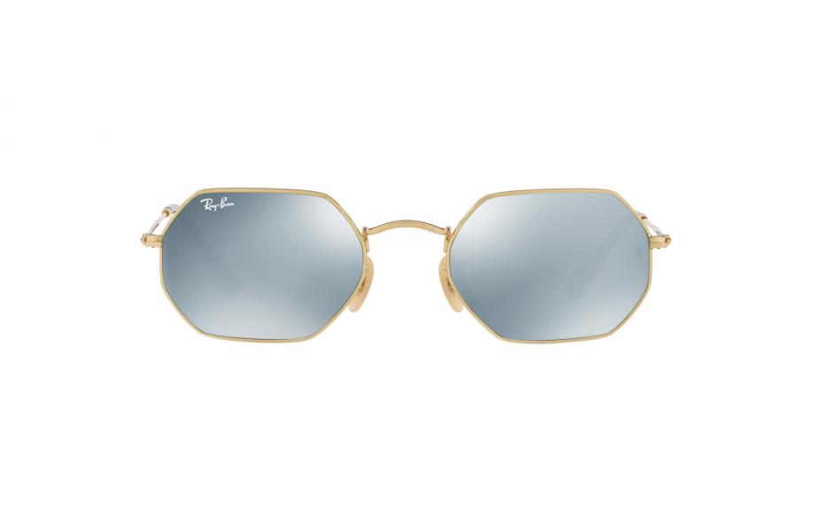 Ray-Ban octogonal RB3556N 001 30 53 óculos de sol - frete grátis ... bddfe115bf