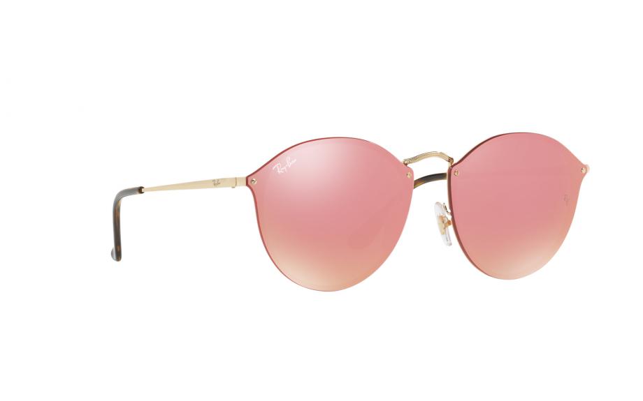 Ray-Ban Blaze Round RB3574N 001   E4 59 óculos de sol - frete grátis    Shade Station 90818f0021