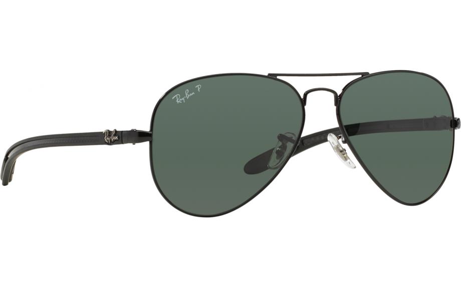 ray ban aviator fibra de carbono rb8307 002 n5 58 culos de sol rh br shadestation com  oculos ray ban 8307