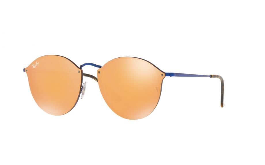Ray-Ban Blaze Round RB3574N 90387J 59 óculos de sol - frete grátis   Shade  Station ee386d4f71