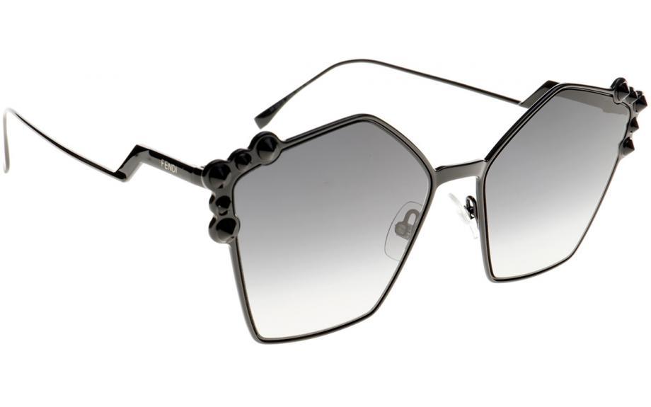 eb9d6d10f Fendi Can Eye FF0261 / S 2O5 9O 57 Óculos de sol - Frete Grátis | Shade  Station