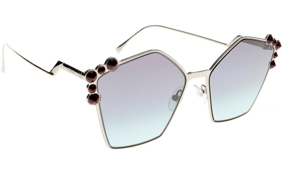 1f6f79e3a Fendi Can Eye FF0261 / S 6LB JF 57 óculos de sol - frete grátis | Shade  Station