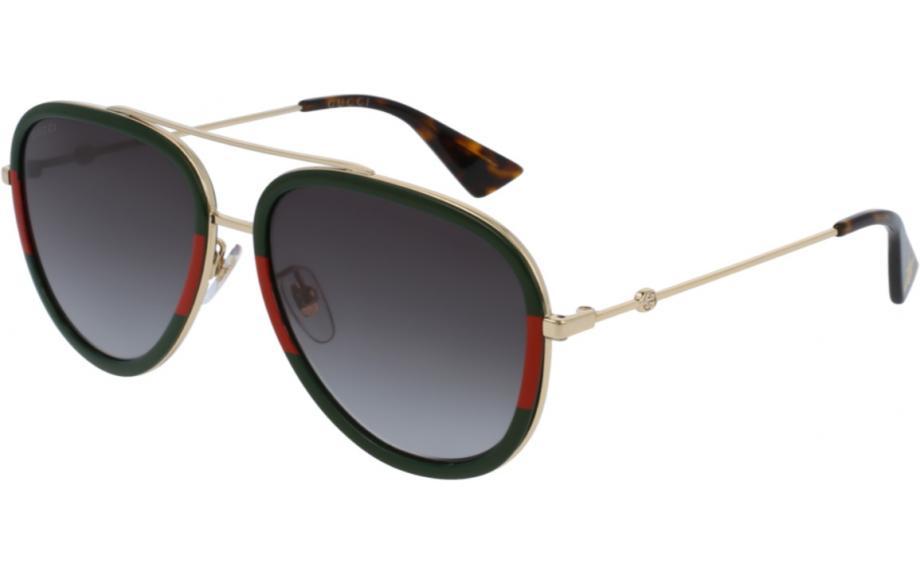 Gucci GG0062S 003 57 Óculos de Sol - Envio Grátis   Estação de sombra 2d26d102d7