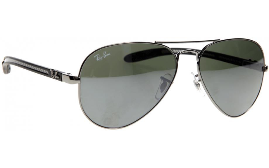 3ec46a4fa8051 Ray-Ban Aviator fibra de carbono RB8307 004 40 58 Óculos de sol - frete  grátis   Estação de sombra