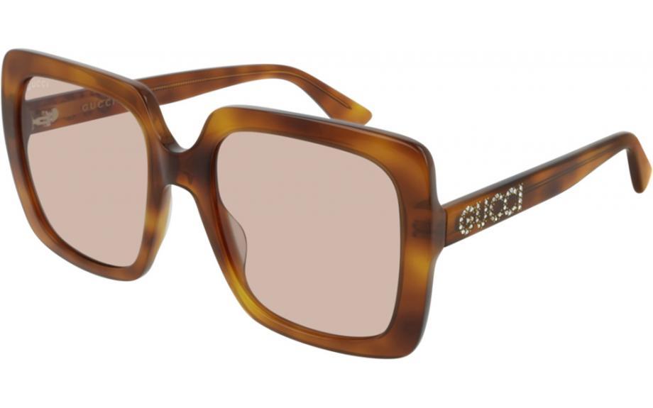 4df5af38d91ae Gucci GG0418S 005 54 óculos de sol - frete grátis   Estação Shade