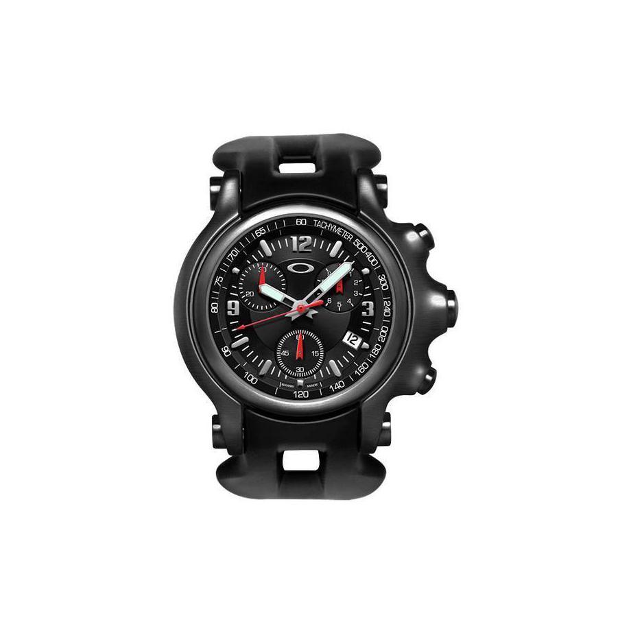 bf9835fffa9 Holeshot Chronograph 10-228 Oakley Watch - Frete Grátis